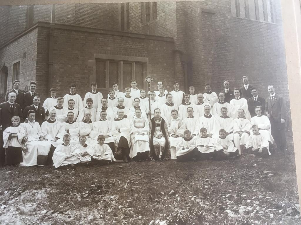 Choir-and-servers-c1930