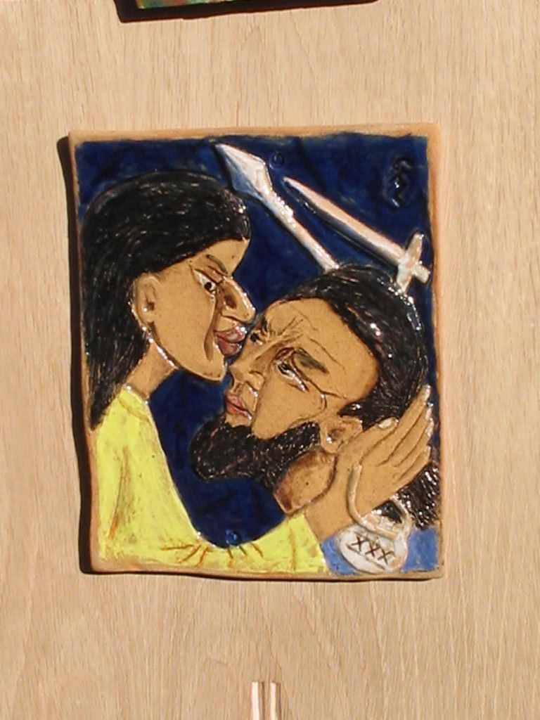 2. Jesus is betrayed with a kiss