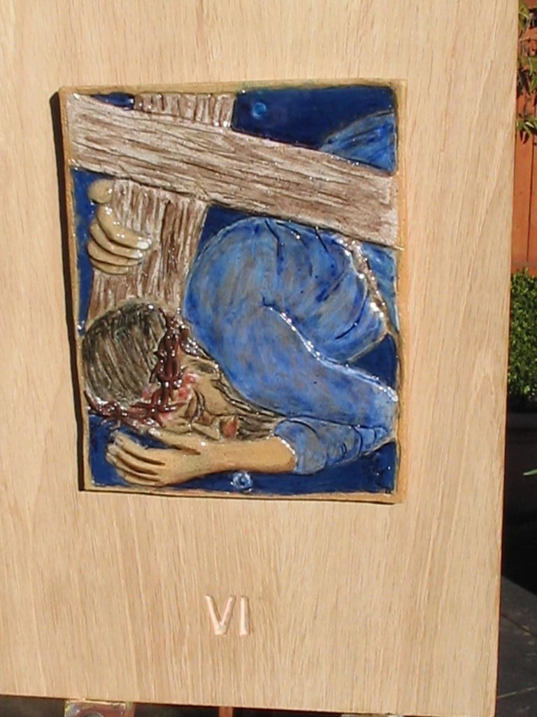 6. Jesus falls