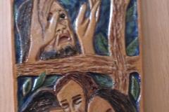 1. Jesus in the garden of Gethsemane.