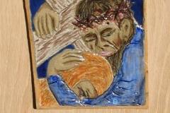 8. Jesus meets his mother
