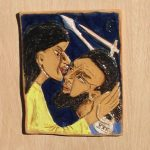 2. Jesus is betrayed with a kiss.